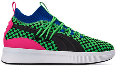 Puma Clyde Court Disrupt Summertime Fluorescent Green 192893-01