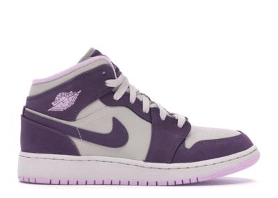 Jordan 1 Mid Pro Purple Desert Sand (GS) 555112-500