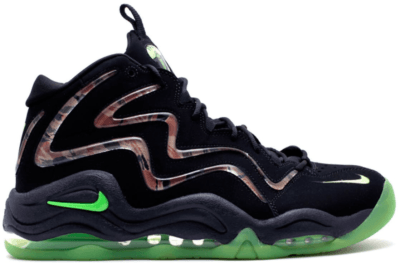 Nike Air Pippen Camo Black Flash Lime Black/Flash Lime-Anthracite 325001-002
