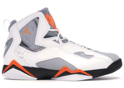 Jordan True Flight White Orange Grey White/Total Orange-Wolf Grey 342964-118