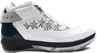 Jordan 22 OG Josh Howard PE White/Midnight Navy-Silver 317141-141