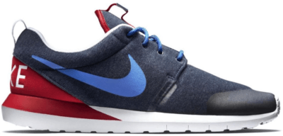 Nike Roshe Run France Navy Heather/Gym Royal-University Red 652804-446