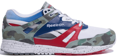 Reebok Ventilator Bape X Mita White/Red Rush-Royal V67037