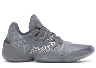 adidas Harden Vol. 4 Grey Three Cloud White EH2412