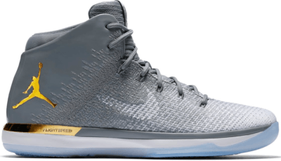 Jordan XXX1 Jordan Brand Classic West Cool Grey/White-Metallic Gold AA2564-071