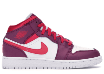 Jordan 1 Mid True Berry Rush Pink (GS) 555112-661