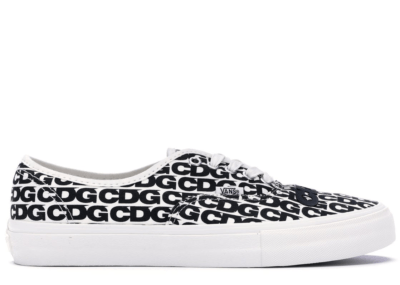 Vans Authentic Comme des Garcons White/Black VN0A33TASHM