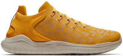 Nike Free RN 2018 Cheetah Yellow (W) Yellow Ochre/Oil Grey-University Gold AQ0562-700