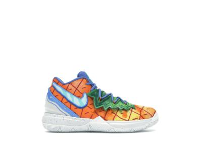 Nike Kyrie 5 Spongebob Pineapple House (PS) Orange Peel/Teal Tint CN4501-800