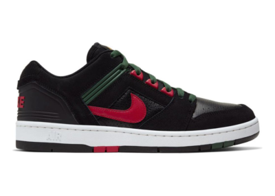 """Nike Skateboarding SB Air Force II Low """"Gym Red / Deep Forest"""" AO0300-002"""