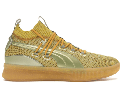 Puma Clyde Court Disrupt Title Run Metallic Gold/Metallic Gold 192898-01