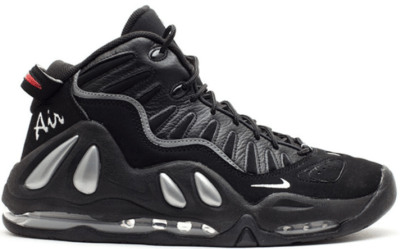 Nike Air Max Uptempo 97 Black Metallic Silver (2010) Black/Metallic Silver-Varsity Red 399207-001