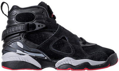 Jordan 8 Retro Black Cement (GS) Black/Gym Red-Black-Wolf Grey 305368-022