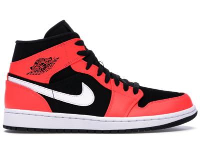 Jordan 1 Mid Infrared 23 Black/White-Infrared 23 554724-061