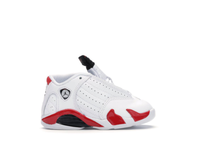 Jordan 14 Retro Rip Hamilton (TD) White/Black-Varsity Red-Metallic Silver 312093-100
