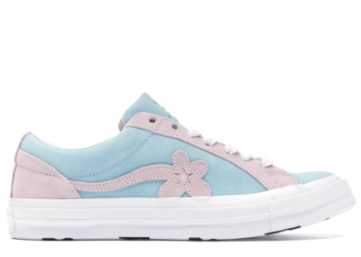 Converse One Star Ox Tyler the Creator Golf Le Fleur Light Blue Pink Plume/Pink Marshmallow-White 162127C