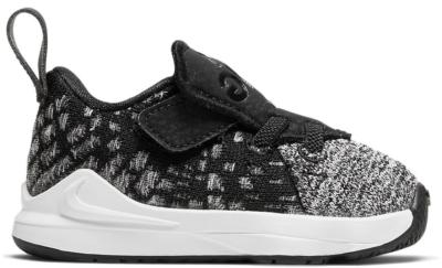 Nike LeBron 17 Black White (TD) Black/Black-White BQ5596-002