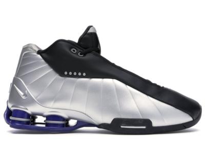 Nike Shox BB4 Black Silver Lapis AT7843-001