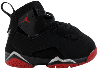 Jordan Air Jordan True Flight Black (TD) Black/Gym Red Metallic Silver 343797-003