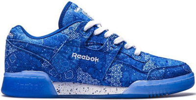 Reebok Workout Lo Plus Limited Edt. Peace and Harmony Blue/White CN2247