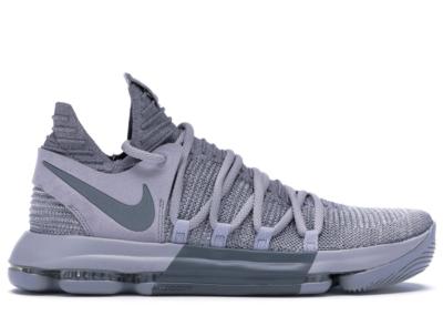 Nike KD 10 Wolf Grey Wolf Grey/Cool Grey 897815-007