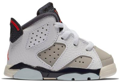 Jordan 6 Retro Tinker (TD) White/Infrared 23-Neutral Grey-Obsidian 384667-104