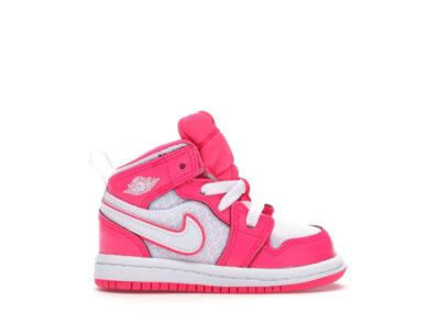 Jordan 1 Mid Hyper Pink White (TD) Hyper Pink/White-White 644507-611