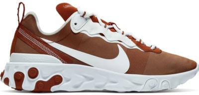 Nike React Element 55 Texas Desert Orange/White-White CK4851-800
