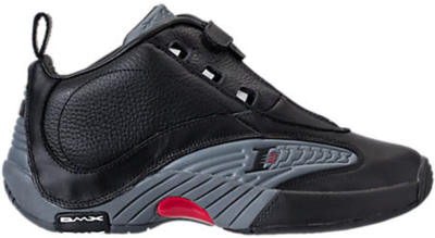 Reebok Answer IV Black Grey (2017) Black/Rivet Grey-Excellent Red V44961