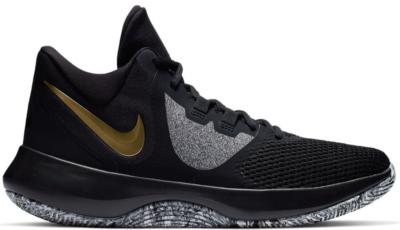Nike Air Precision 2 Black Metallic Gold Black/Metallic Gold-White AA7069-090