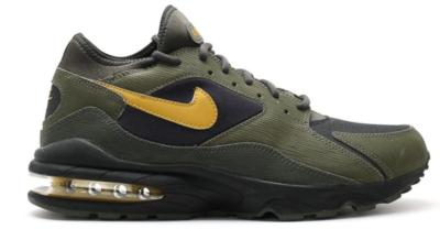 Nike Air Max 93 Size Army Pack Black/Dark Citron 306551-070