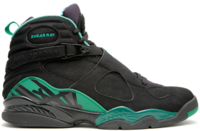 Jordan 8 Retro Ray Allen Boston Celtics PE Away Black/Stealth-Clover H007-M-JORD-962-48716