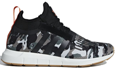 adidas Swift Run Barrier Camo Trace Cargo/Core Black/Orange B42234