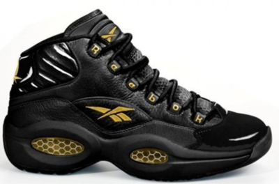 Reebok Question Mid New Years Eve (2012) Black/Gold V-48294