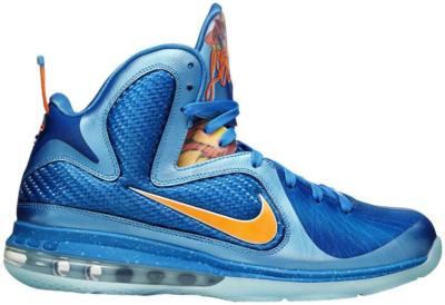 Nike LeBron 9 China (YOTD) Neptune Blue/Total Orange-Current Blue-CP 469764-800