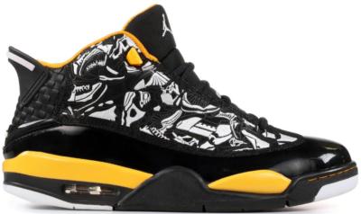 Jordan Dub Zero Black Maize Black/White-Tax 311046-071