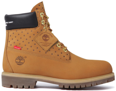 Timberland 6″ Boot Supreme x Comme des Garcons Wheat Wheat TB0A14MC