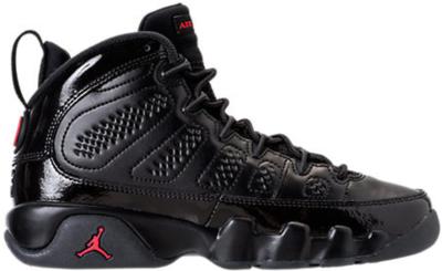 Jordan 9 Retro Bred Patent (GS) Black/University Red-Anthracite 302359-014