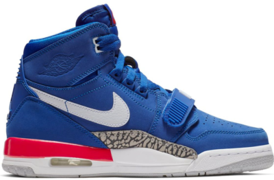 Jordan Legacy 312 Pistons (GS) Bright Blue/White-University Red AT4040-416
