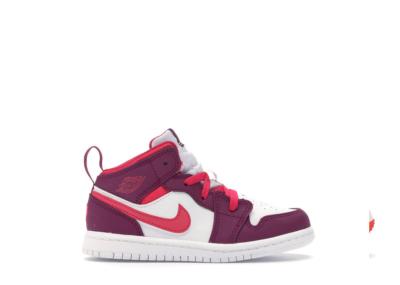 Jordan 1 Mid True Berry Rush Pink (TD) True Berry/Rush Pink-White 644507-661