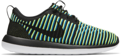 Nike Roshe Two Flyknit Photo Blue (W) Black/Photo Blue-Volt-Black 844929-003