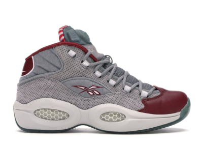 """Reebok Pump Question Villa """"A Day in Philly"""" Grey/Red-White M49086"""