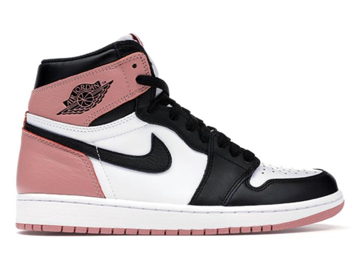 Jordan 1 Retro High Rust Pink White/Black-Rust Pink 861428-101