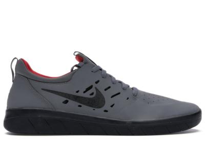 Nike SB Nyjah Free Dark Grey Gym Red Black Dark Grey/Gym Red-Black AA4272-005
