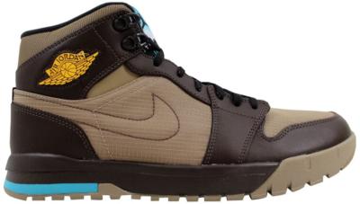 Jordan Air Jordan I 1 Trek Khaki/Varsity Maize-Baroque Brown Khaki/Varsity Maize-Baroque Brown 616344-205