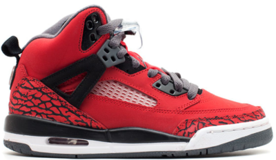 Jordan Spiz'ike Toro Bravo (GS) Gym Red/Black-Dark Grey-White 317321-601