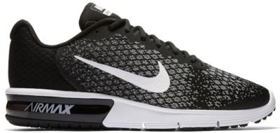 Nike Air Max Sequent 2 Black White 852461-005