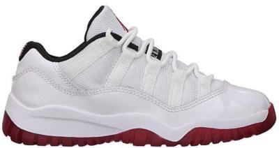Jordan 11 Retro Low White Red 2012 (PS) White/Varsity Red-Black 505835-111