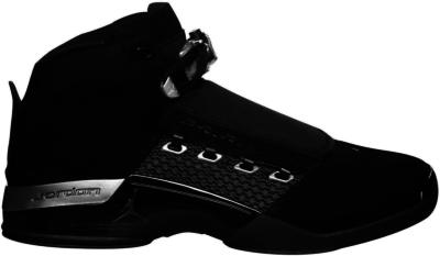 Jordan 17 Retro Black Silver CDP (2008) Black/Metallic Silver 322721-001
