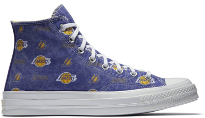 Converse Chuck Taylor All-Star 70s Hi Los Angeles Lakers (Franchise) Field Purple/Amarillo-White 161160C